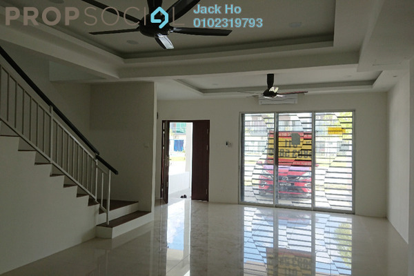 Terrace For Rent in CasaView @ Cybersouth, Dengkil Freehold Semi Furnished 4R/3B 1.8k