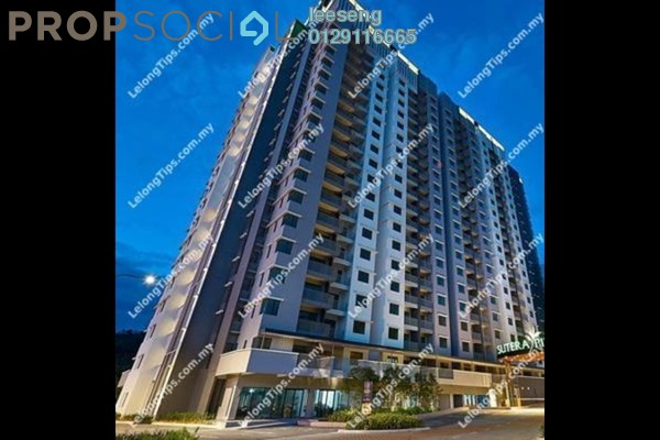 Condominium For Sale in Sutera Pines, Bandar Sungai Long Freehold Unfurnished 0R/0B 461k