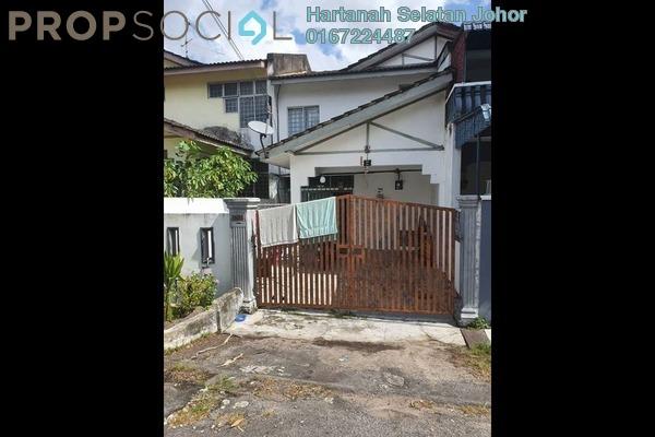 For Sale Terrace at Taman Sri Saleng, Senai Freehold Unfurnished 4R/3B 310k