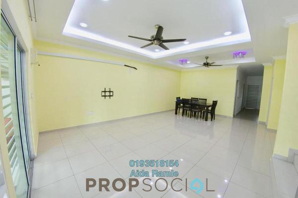 Terrace For Sale in Nusari Bayu, Bandar Sri Sendayan Freehold Semi Furnished 4R/3B 445k