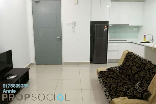 Apartment For Rent in Tropez Residences, Danga Bay Freehold Fully Furnished 1R/1B 1.2k
