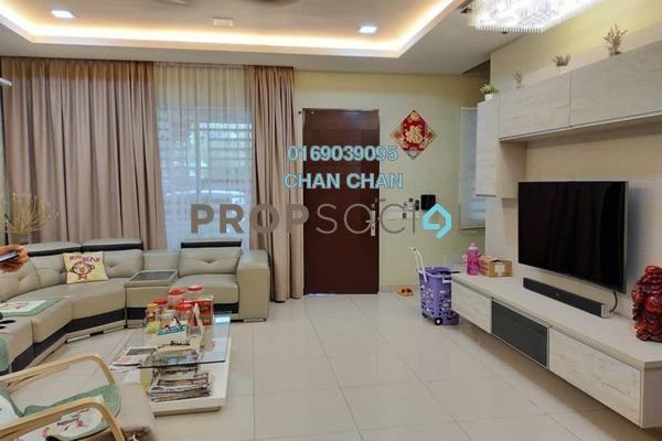 Terrace For Sale in Seri Binjai, Seremban Freehold Semi Furnished 4R/3B 618k