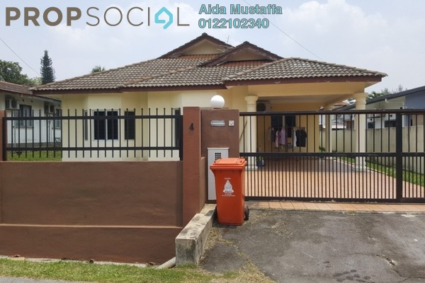 Bungalow For Sale in Section 6, Petaling Jaya Leasehold Semi Furnished 4R/3B 1.58m