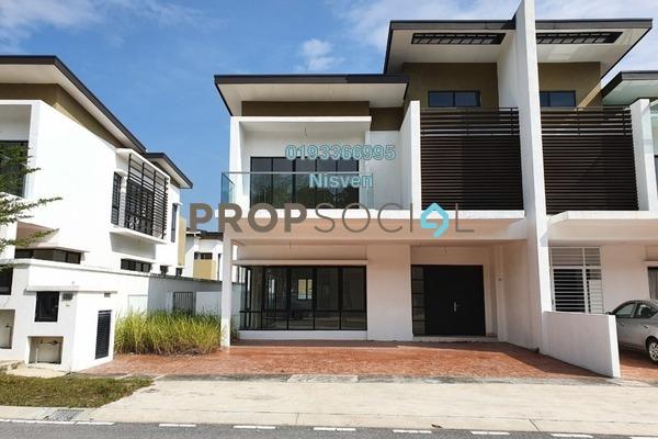 Semi-Detached For Rent in Anggun 3, Rawang Freehold Unfurnished 4R/4B 2.2k