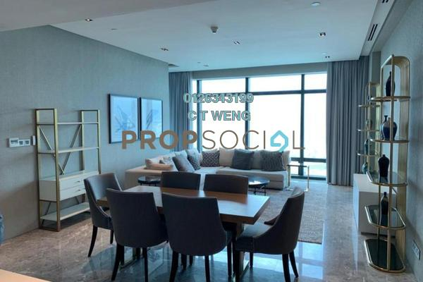 Condominium For Rent in Four Seasons Place, KLCC Freehold Fully Furnished 3R/4B 25k