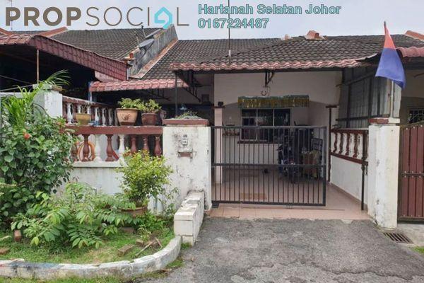 For Sale Terrace at Taman Saleng Indah, Senai Freehold Unfurnished 3R/1B 310k