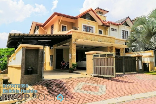 Superlink For Sale in Park Residence, Bukit Jelutong Freehold Semi Furnished 4R/4B 1.8m