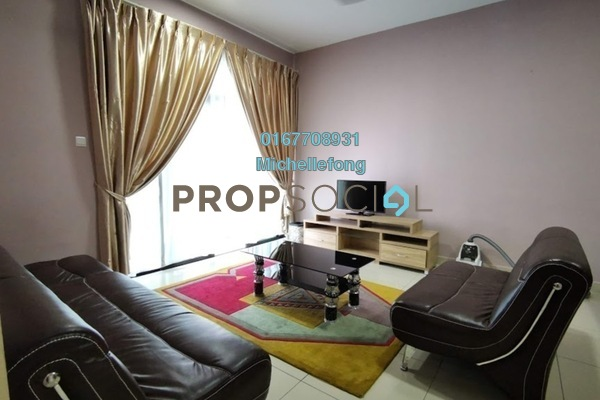 Serviced Residence For Rent in D'Summit Residences, Skudai Freehold Fully Furnished 3R/3B 1.8k