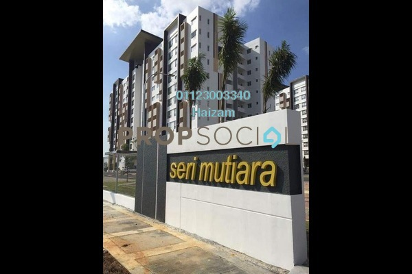 For Sale Apartment at Seri Mutiara, Setia Alam Freehold Unfurnished 3R/2B 328k