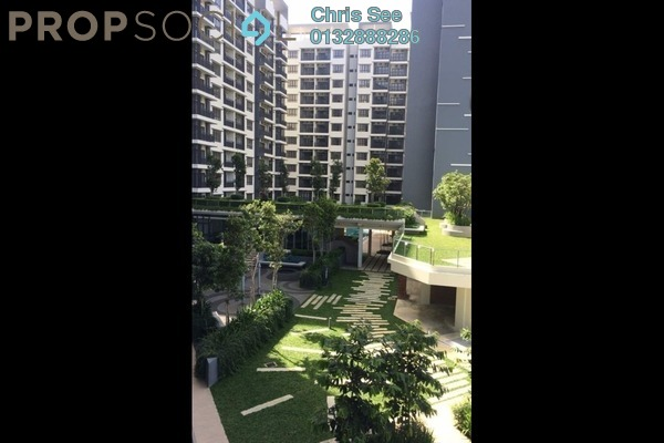 Condominium For Sale in Suria Residence, Bukit Jelutong Freehold Semi Furnished 2R/2B 649k
