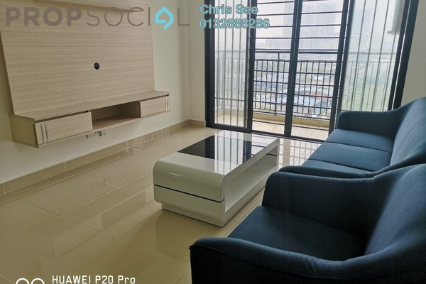 Condominium For Rent in Ken Rimba, Shah Alam Freehold Fully Furnished 3R/2B 2k