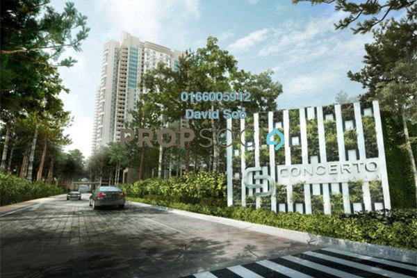 Condominium For Rent in Concerto Kiara, Dutamas Freehold Semi Furnished 4R/4B 4k
