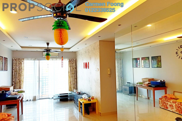 Condominium For Sale in Connaught Avenue, Cheras Freehold Fully Furnished 3R/2B 400k