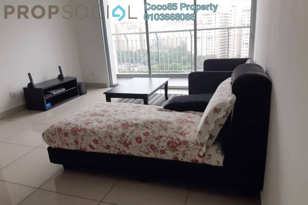 Condominium For Rent in Zeta Deskye Residence, Kuala Lumpur Freehold Fully Furnished 3R/2B 1.5k