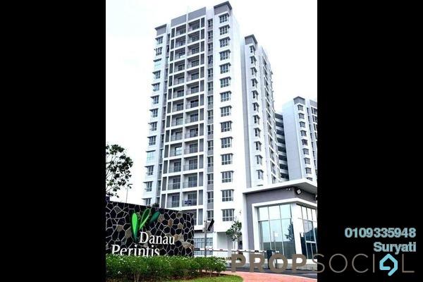 Apartment For Sale in Danau Perintis, Puncak Alam Freehold Semi Furnished 3R/2B 365k