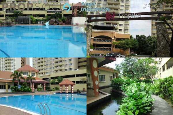 For Rent Condominium at Koi Tropika, Puchong Freehold Fully Furnished 3R/2B 550translationmissing:en.pricing.unit