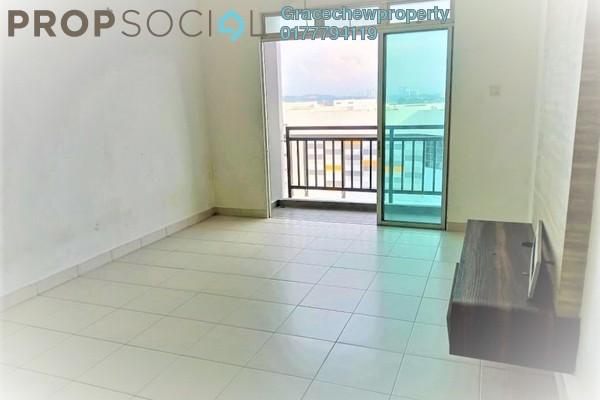 Apartment For Rent in Tebrau City Residences, Tebrau Freehold Semi Furnished 3R/2B 1.4k
