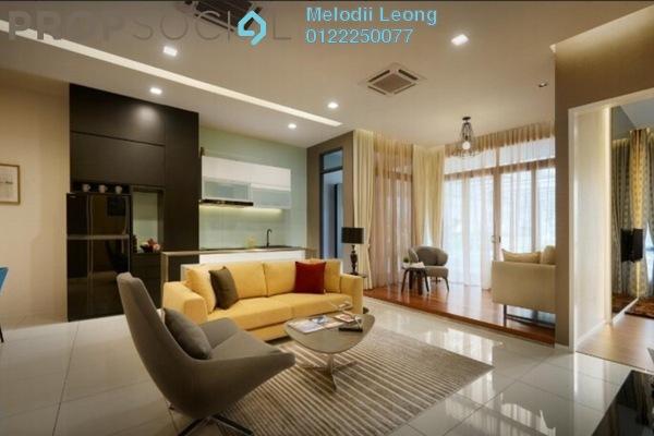 Condominium For Sale in Bennington Residences, Setapak Freehold Semi Furnished 3R/2B 668k