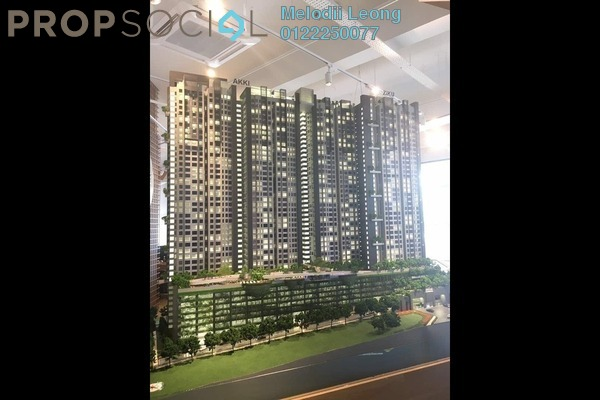 For Sale Condominium at The Havre, Bukit Jalil Freehold Unfurnished 3R/2B 527k