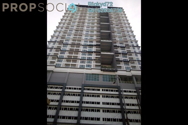 Condominium For Rent in Court 28 @ KL City, Sentul Freehold Semi Furnished 2R/2B 1.8k