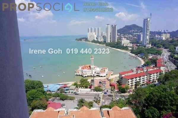 Condominium For Sale in Twin Towers, Tanjung Bungah Freehold Fully Furnished 2R/2B 630k