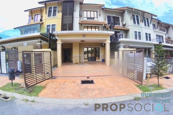 Terrace For Sale in BK9, Bandar Kinrara Leasehold Semi Furnished 5R/4B 1.2m