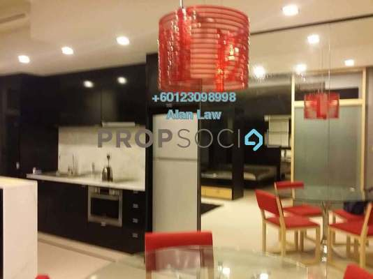 Serviced Residence For Sale in VERVE Suites, Mont Kiara Freehold Fully Furnished 1R/1B 750k