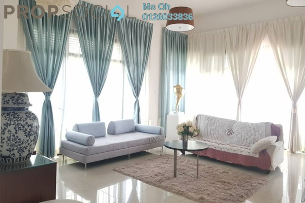 For Rent Bungalow at Setia Eco Park, Setia Alam Freehold Semi Furnished 4R/4B 5k