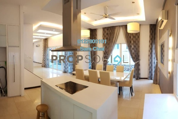 Semi-Detached For Rent in Villa Manja, Bandar Menjalara Freehold Semi Furnished 4R/4B 7.5k