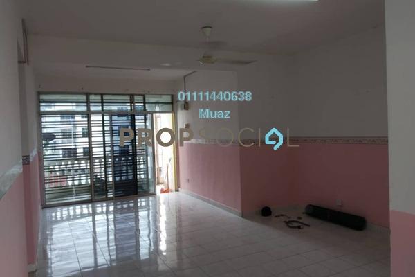 Apartment For Sale in Taman Saujana Indah, Bukit Katil Freehold Unfurnished 4R/3B 199k
