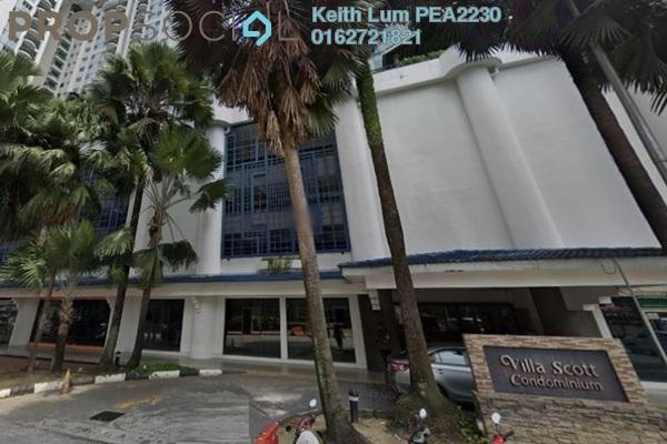 For Rent Condominium at Villa Scott, Brickfields Freehold Fully Furnished 4R/2B 3.2k