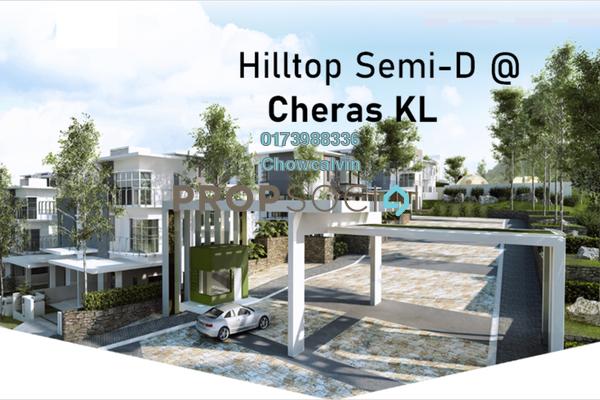 Semi-Detached For Sale in Taman Billion, Cheras Freehold Semi Furnished 6R/6B 1.76m