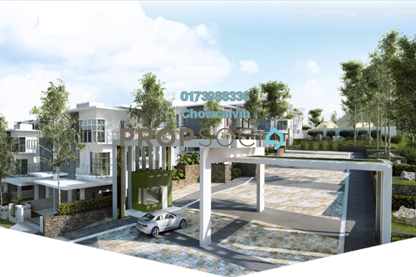 Semi-Detached For Sale in Taman Sri Bahtera, Cheras Freehold Semi Furnished 6R/6B 1.76m