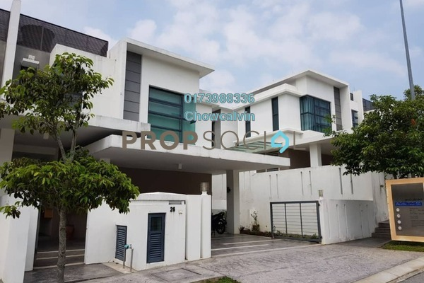 Semi-Detached For Sale in Bukit Tiara, Cheras Freehold Semi Furnished 6R/6B 1.76m