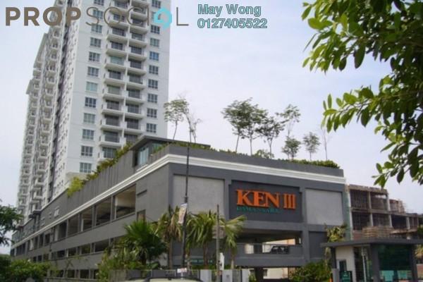 Condominium For Sale in Ken Damansara III, Petaling Jaya Freehold Semi Furnished 3R/2B 620k