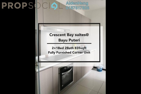 Condominium For Rent in Crescent Bay Suites, Johor Bahru Freehold fully_furnished 2R/2B 1.6k