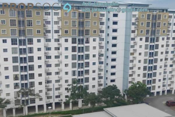 For Sale Apartment at Taipan 1, Ara Damansara Freehold Semi Furnished 3R/2B 350k