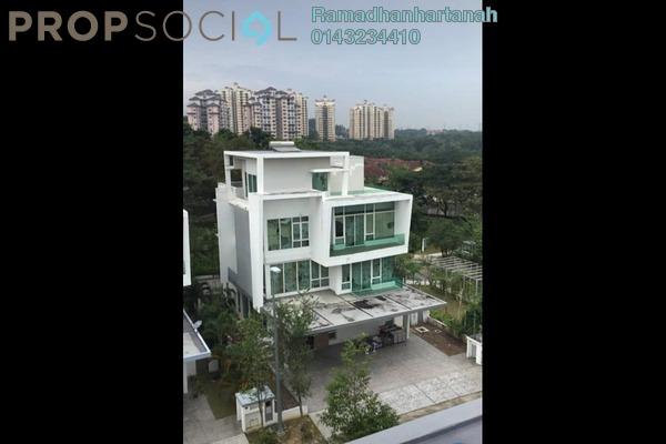Bungalow For Sale in Aspen Bungalows @ Garden Residence, Cyberjaya Freehold semi_furnished 9R/9B 3.8m