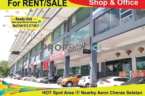 For Rent Office at Silk Residence, Bandar Tun Hussein Onn Freehold Unfurnished 0R/2B 1.85k