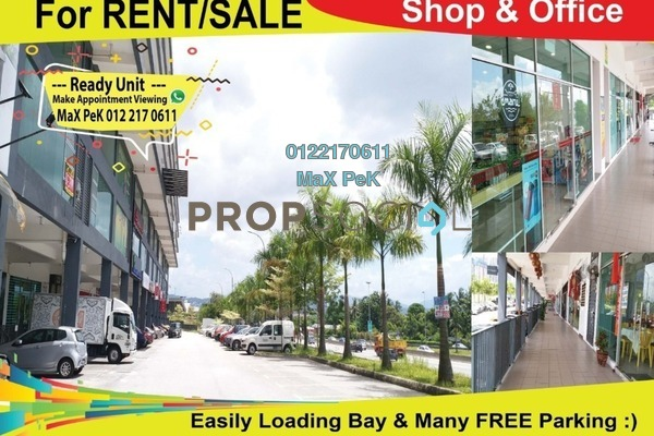 For Rent Office at Silk Residence, Bandar Tun Hussein Onn Freehold Unfurnished 0R/2B 2k