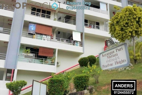 For Rent Condominium at Pearlvue Heights, Tanjung Tokong Freehold Fully Furnished 2R/2B 1k