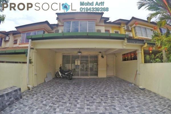 Terrace For Sale in Taman Puncak Kinrara, Bandar Kinrara Leasehold Semi Furnished 4R/3B 570k