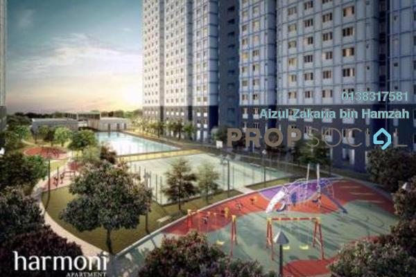 Serviced Residence For Rent in Harmoni Apartment Eco Majestic, Beranang Freehold unfurnished 3R/2B 850translationmissing:en.pricing.unit