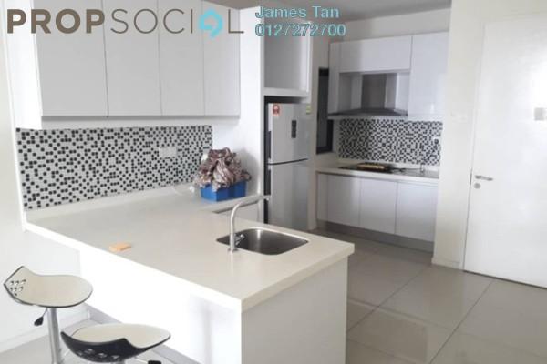 Serviced Residence For Rent in KU Suites, Kemuning Utama Freehold Semi Furnished 2R/2B 1.5k
