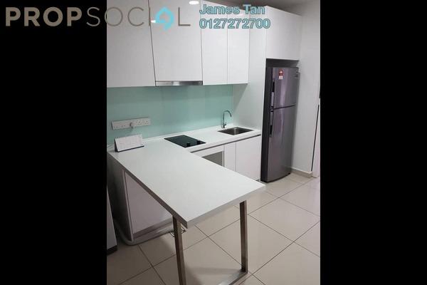 Serviced Residence For Rent in KU Suites, Kemuning Utama Freehold Semi Furnished 1R/1B 1.3k