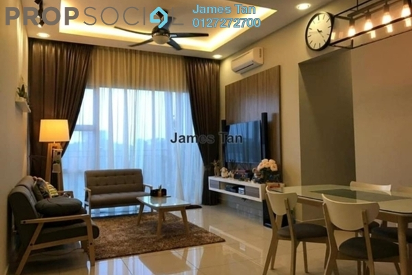 Serviced Residence For Rent in Geo Bukit Rimau, Bukit Rimau Freehold Fully Furnished 4R/3B 2.5k