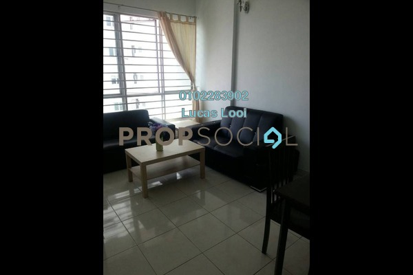 Serviced Residence For Rent in e-Tiara, Subang Jaya Freehold Fully Furnished 2R/2B 1.75k