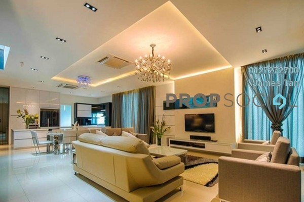Serviced Residence For Rent in KU Suites, Kemuning Utama Freehold Fully Furnished 3R/2B 2.3k
