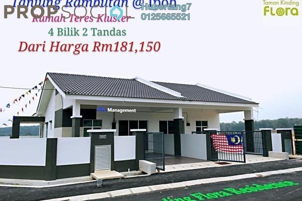 Link For Sale in Taman Kinding Raya, Tanjung Rambutan Leasehold Unfurnished 3R/2B 181k