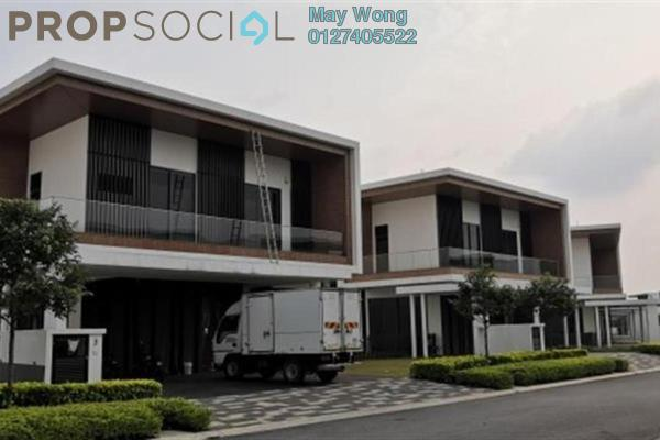 Semi-Detached For Sale in The Parque Residences @ Eco Sanctuary, Telok Panglima Garang Freehold Semi Furnished 5R/6B 2.4m